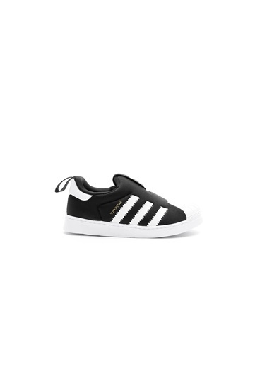 adidas Unisex Çocuk SuperStar 360 Sneakers S82711.Siyah Siyah